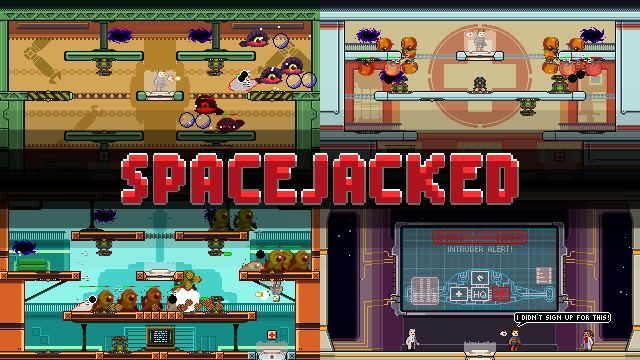 Spacejacked collage